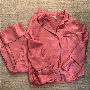 Victoria's Secret Satin Pajama Set